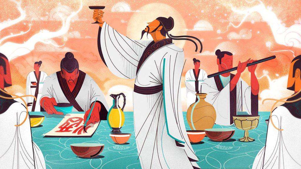 Li Bai inspires baijiu drinkers