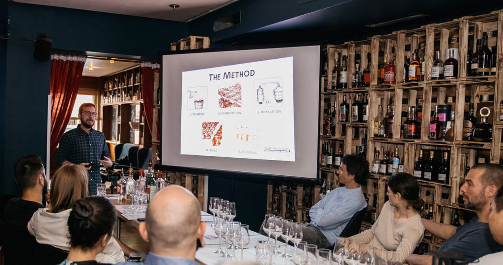 Baijiu masterclass at Bar Wagemut
