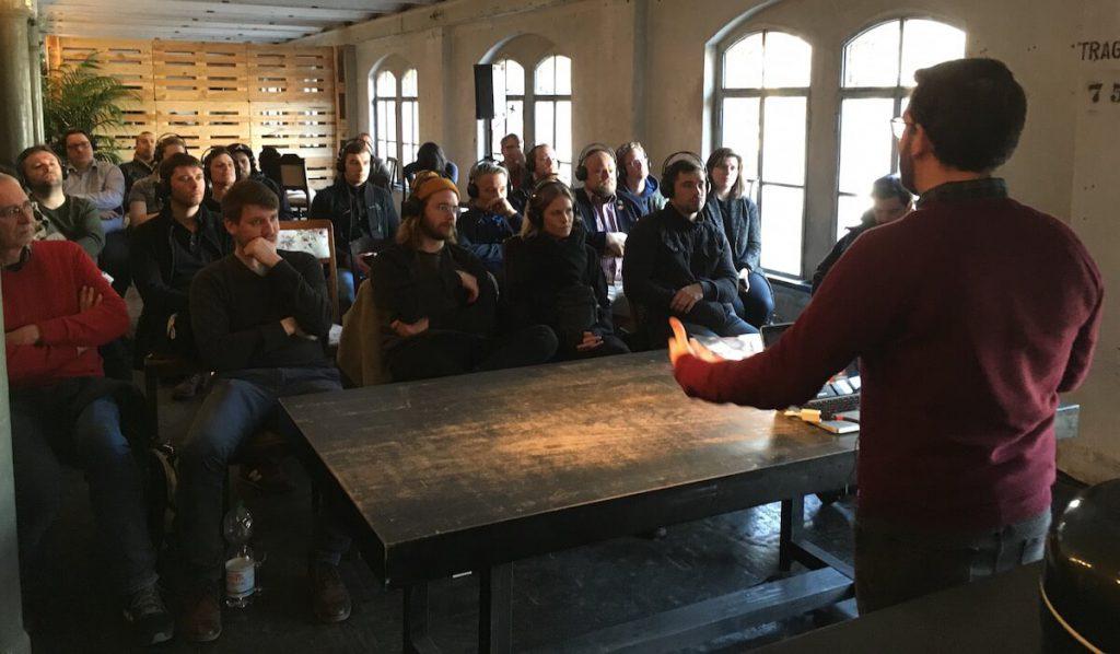 Drink Baijiu seminar at Destille Berlin