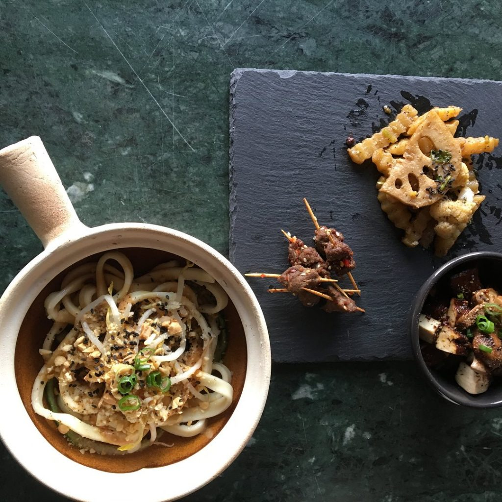 Food pairing with baijiu