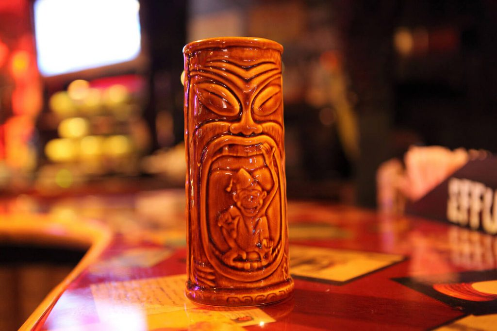 Tiki mug for baijiu event