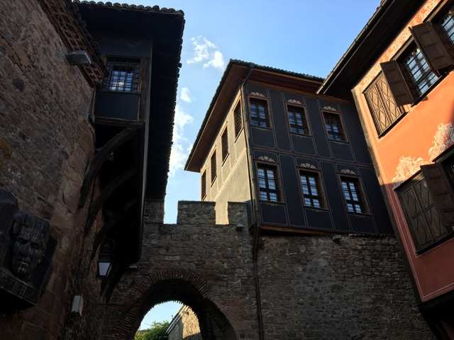 Bulgarian old city walls