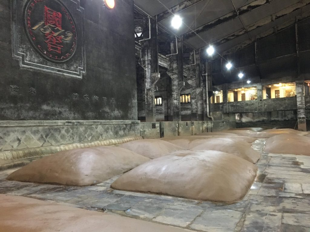 Ancient baijiu fermentation pits