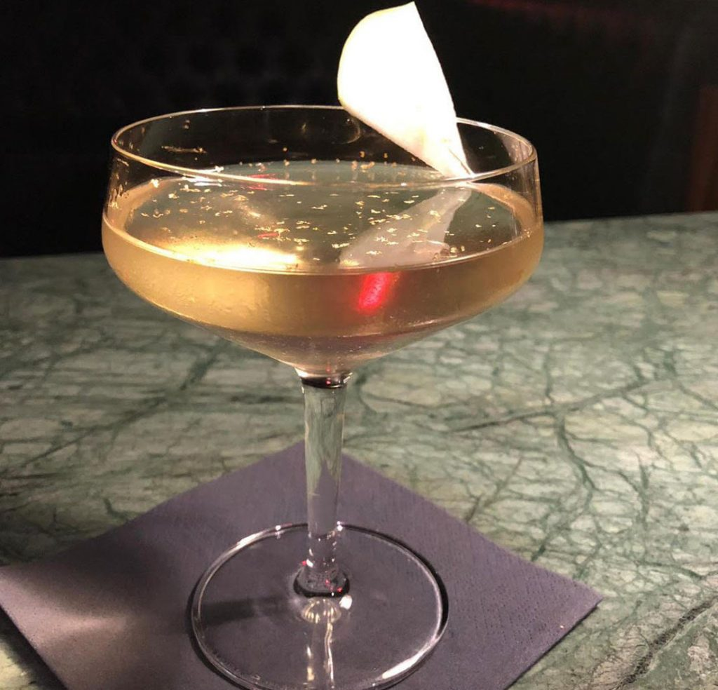 Baijiu cocktail by Pearly Gates