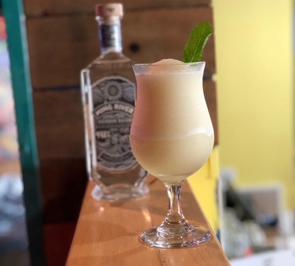 tropical baijiu cocktail