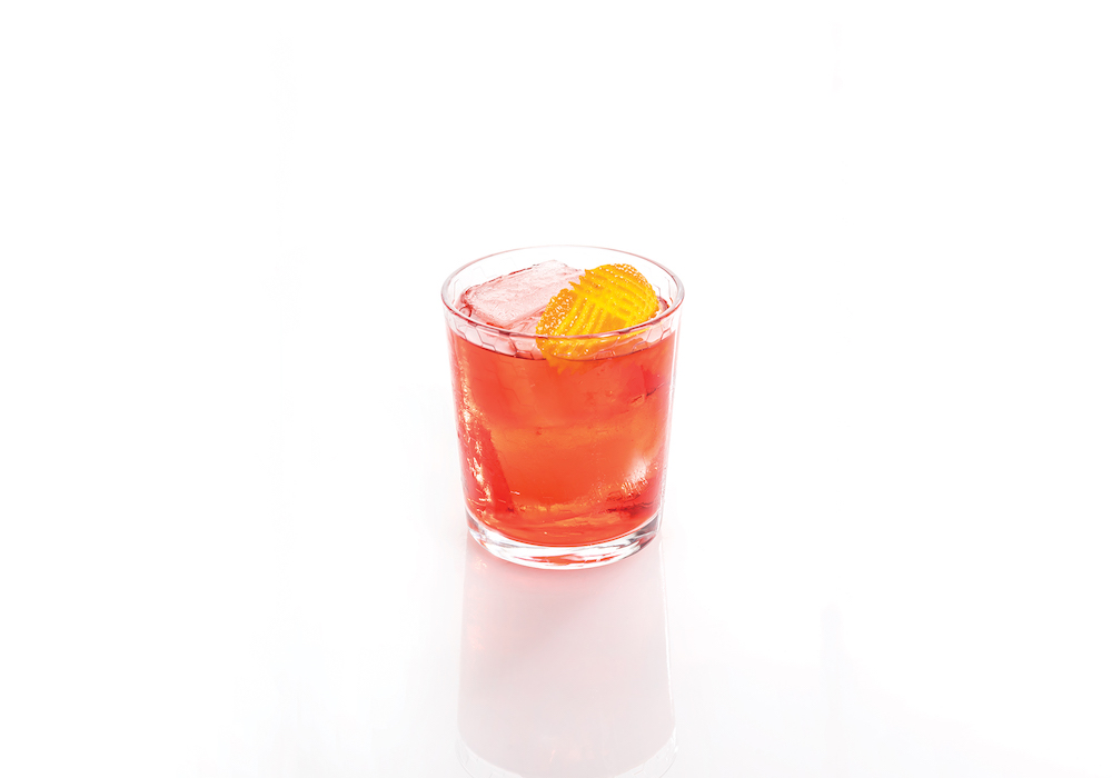 Red baijiu lowball