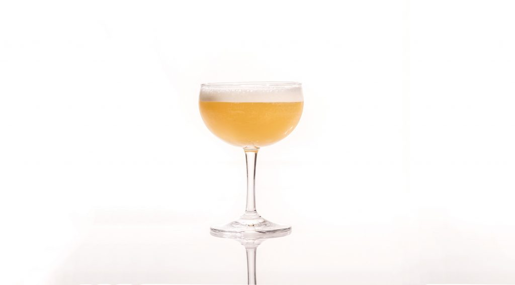 Yellow Baijiu Cocktail