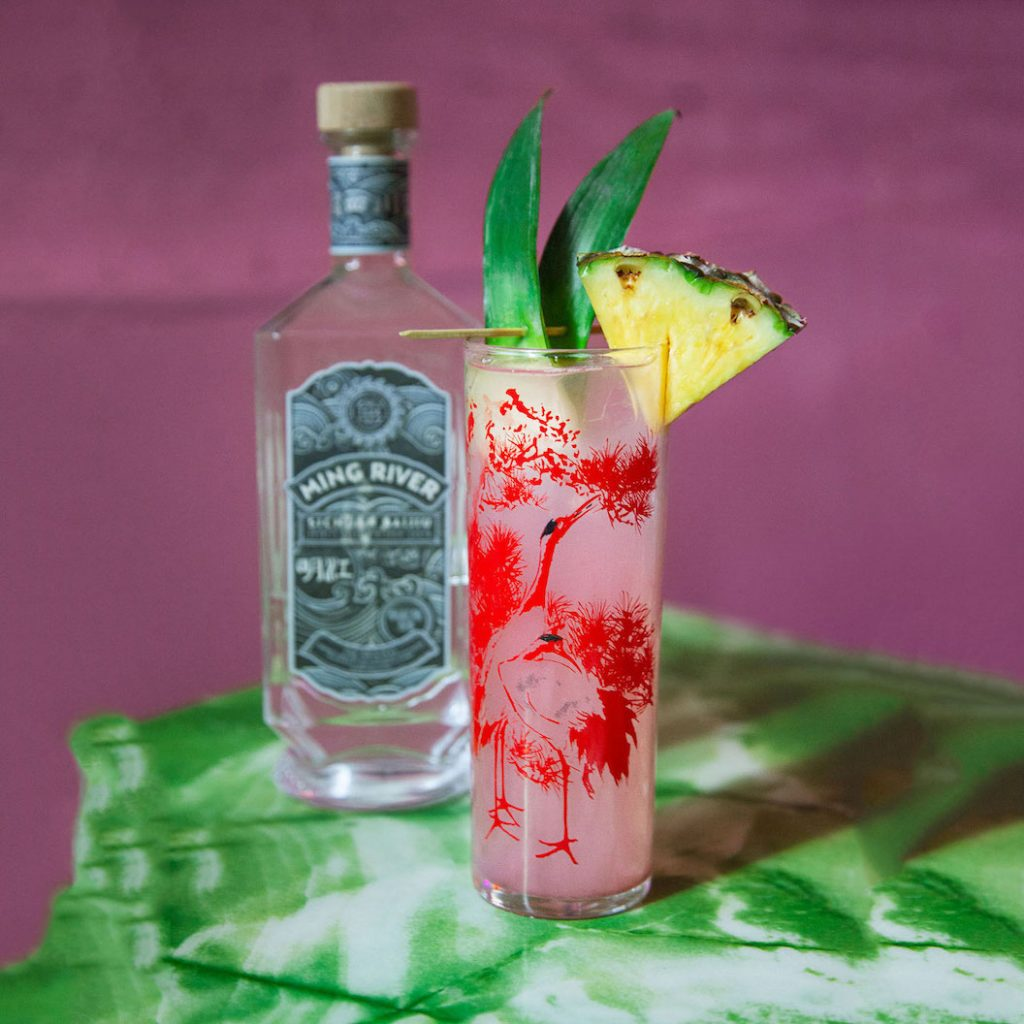 tropical baijiu cocktails